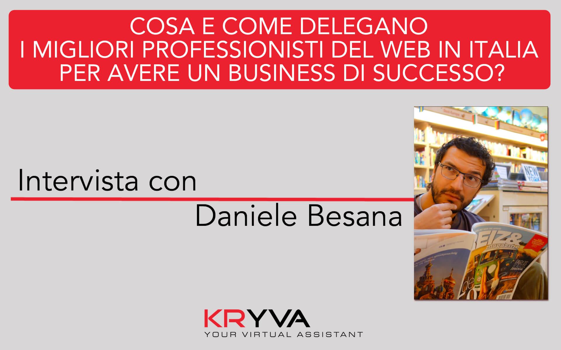 Comunicazione aperta e competenza nella delega | Intervista con Daniele Besana