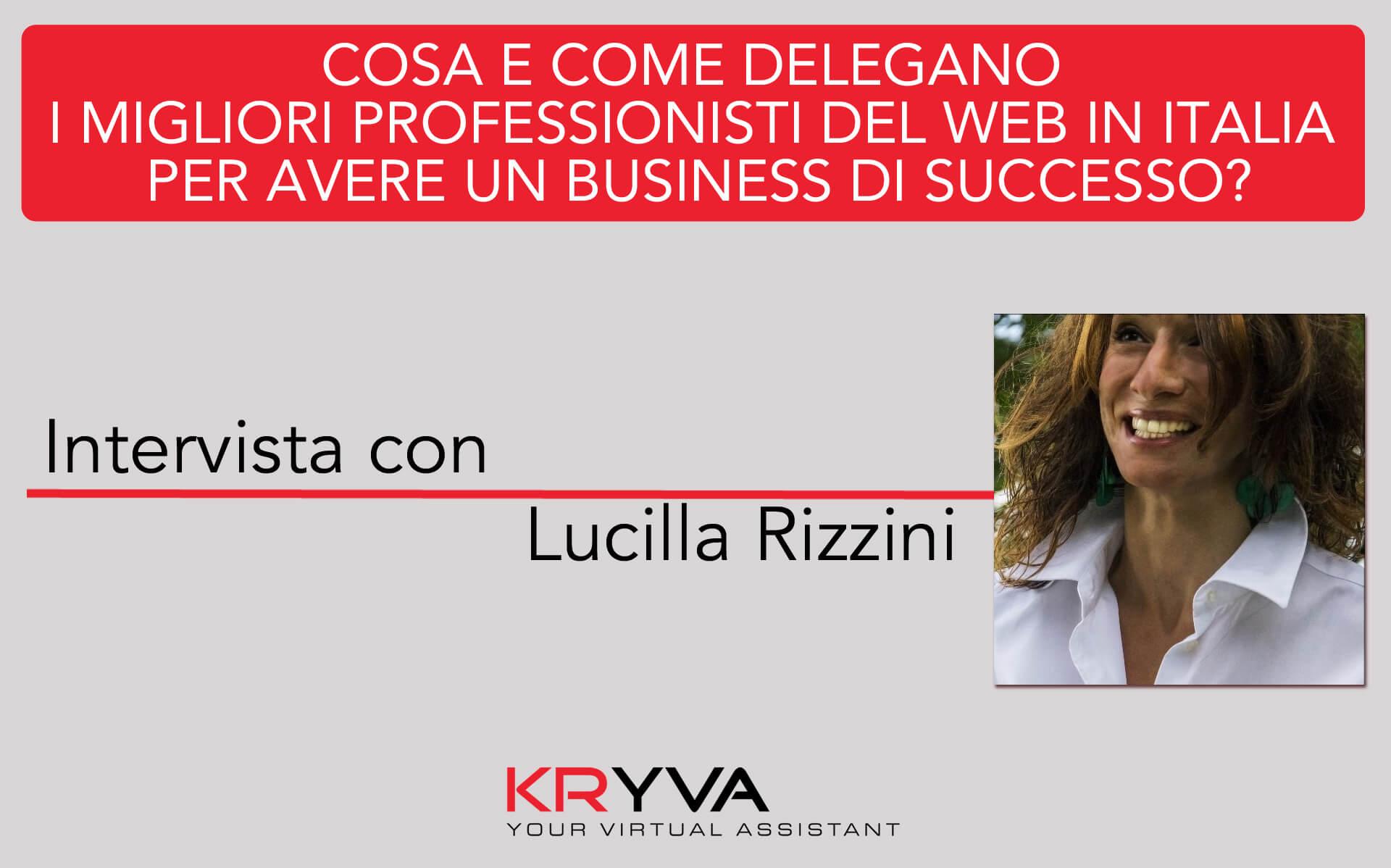 Integrità e intento, fondamenti della delega | Intervista con Lucilla Rizzini