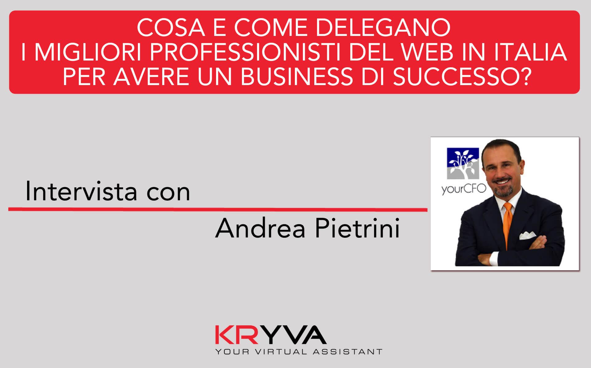 La gestione organizzativa e il modello di delega in una Light Company | Intervista con Andrea Pietrini