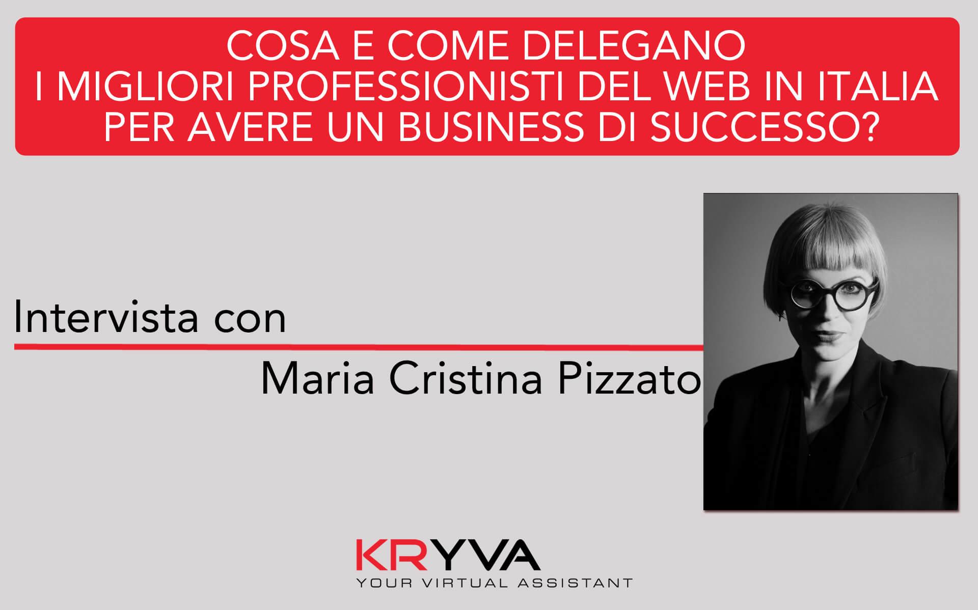 La fortuna di lavorare con persone di cui sei responsabile, ma con skill più innovative delle tue | Intervista con Maria Cristina Pizzato