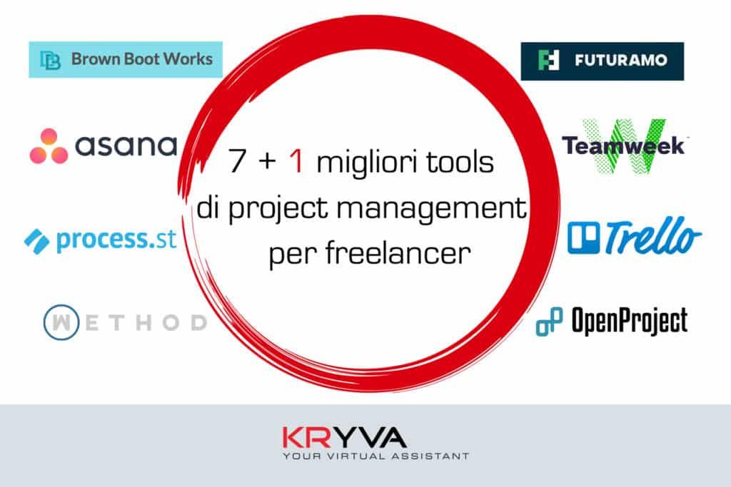 7 + 1 tools di project management per freelancer