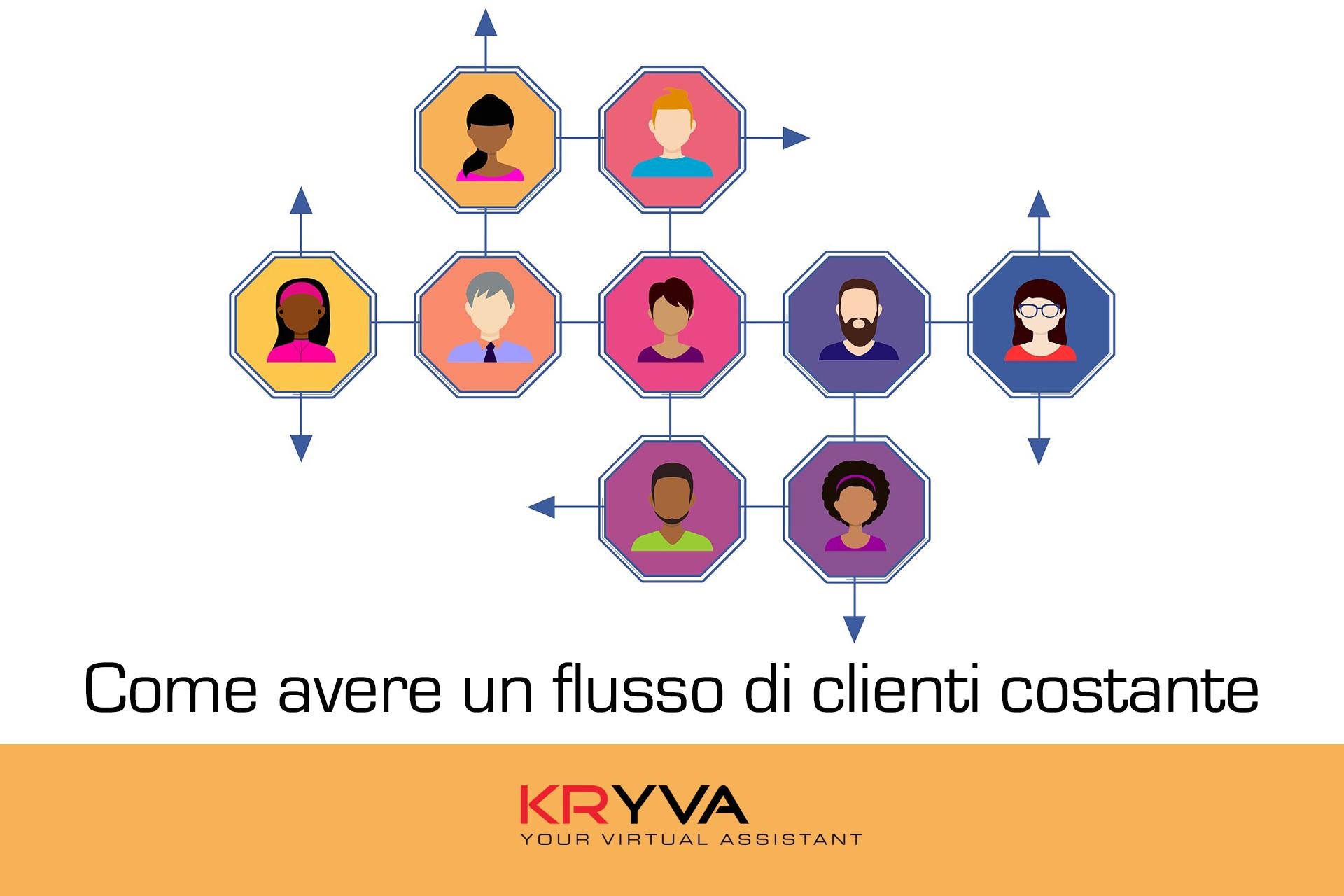 Come avere un flusso di clienti costante?