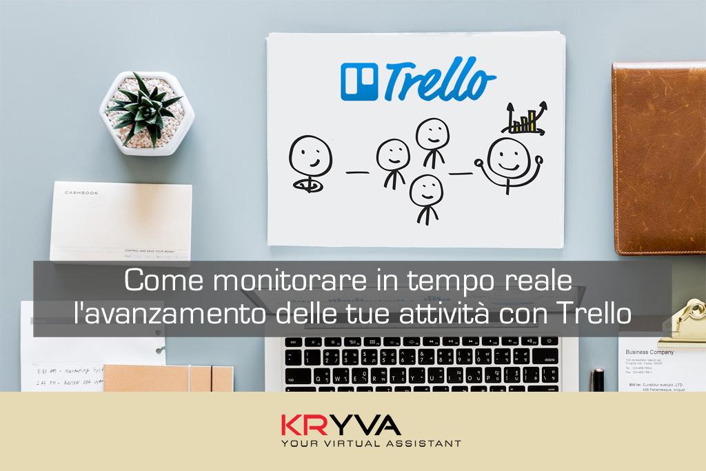 Come monitorare in tempo reale l'avanzamento delle tue attività con Trello
